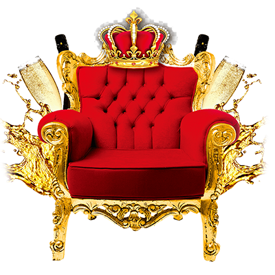 tufted-red-and-gold-armchair-png-clip-art
